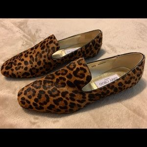 Jimmy Choo Leopard Print Loafer